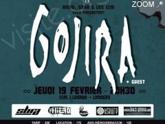 photo de GOJIRA + GUEST