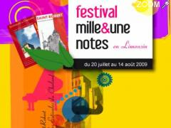 photo de Festival mille et une notes en Limousin