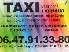 photo de Taxi Lachaud Christophe