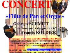 "photo de Concert   ""Flûte de Pan et orgue"""