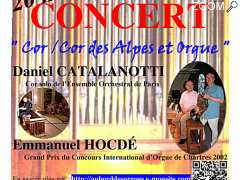 "photo de Concert ""Cor d'harmonie/cor des Alpes et orgue"