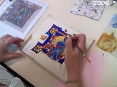 Stages de calligraphie et d'enluminure traditionnelle